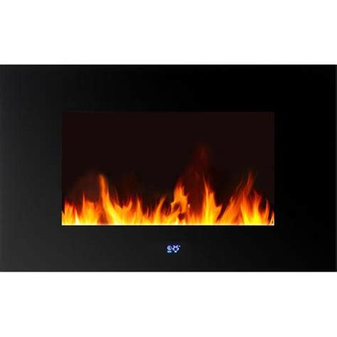 led wall mounted fireplace warm house wlvf 10343 venice horizontal wall