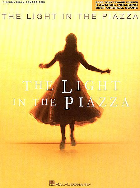 the light in the piazza sheet by adam guettel sku