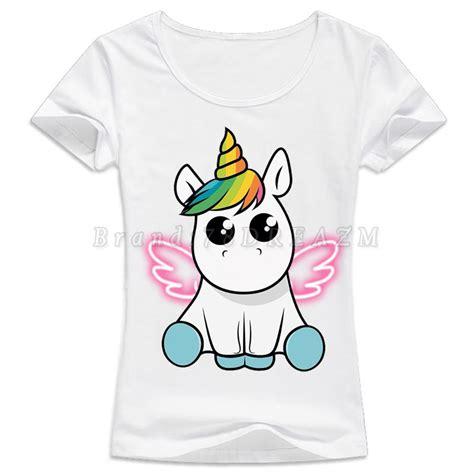 Home Design App Customer Service by Aliexpress Com Buy Unicorn T Shirt For Women 2017 Kawaii