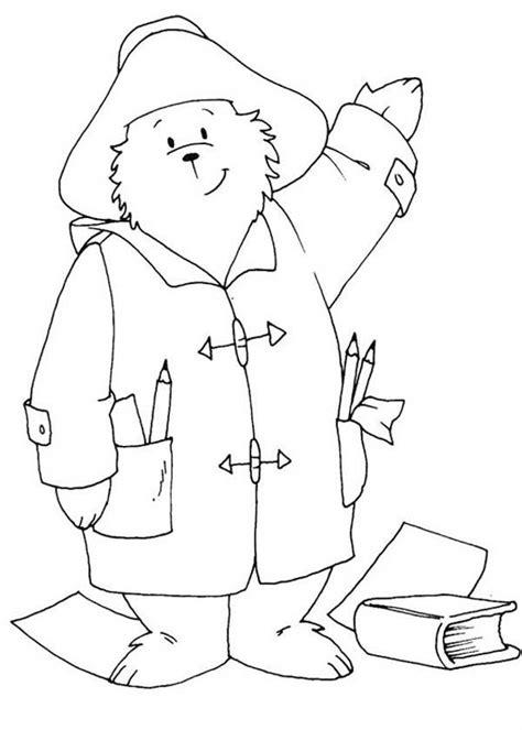 coloring pages paddington bear paddington bear coloring pages coloring home
