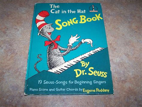 cat in the hat pictures from the book the cat in the hat song book dr seuss c 1967 from