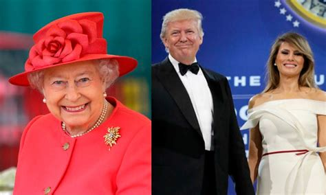 queen elizabeth donald trump queen elizabeth and prince philip s wedding video from