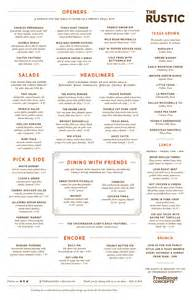 rustic kitchen menu 28 rustic kitchen menu menu for on sale rustic