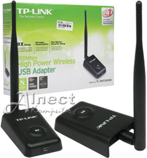 Usb Wifi Adapter Jarak Jauh jual usb wi fi adapter tp link tl wn7200nd wi fi adapter