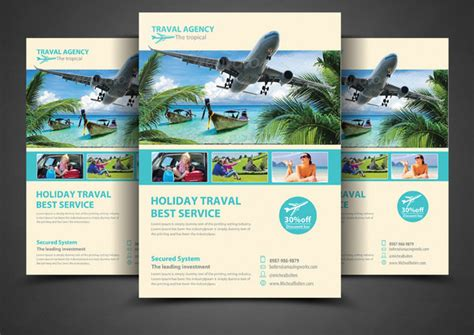 flyer design for travel agency travel flyer template 42 free psd ai vector eps