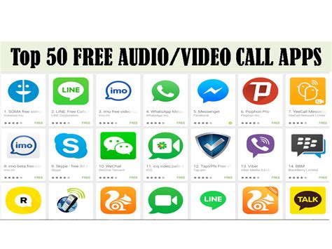 free calling app for android top 50 android free audio call messaging apps