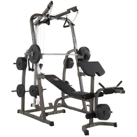 Banc De Musculation Complet Professionnel by Banc De Musculation Professionnel Hammer Solid Xp