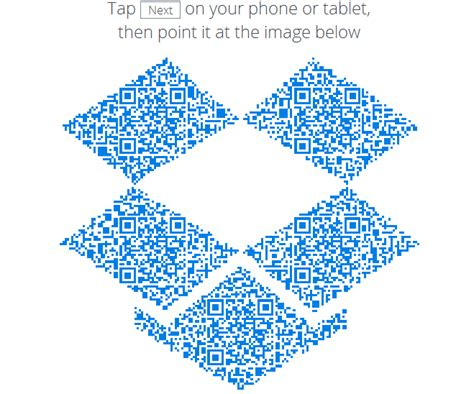Dropbox Qr Code | dropbox updates its android app to version 2 4