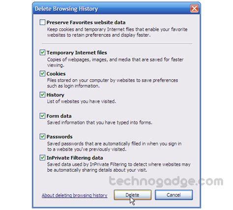browser history delete bing clear bing search history internet explorer