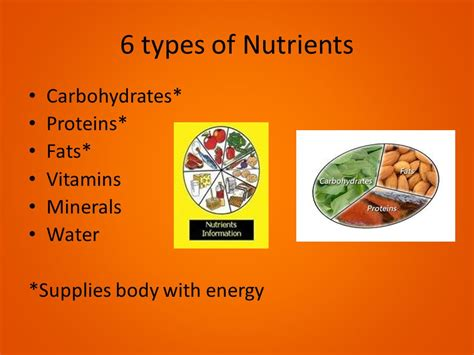 6 types of carbohydrates nutrition ppt