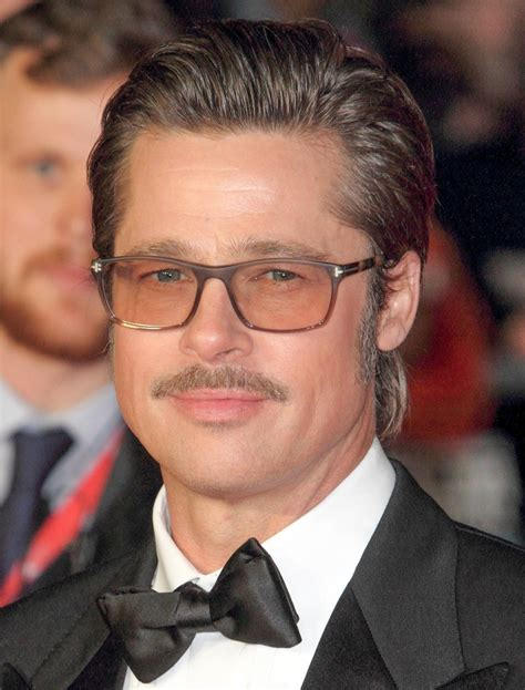 brad pitt natural hair mens celebrity hairstyles