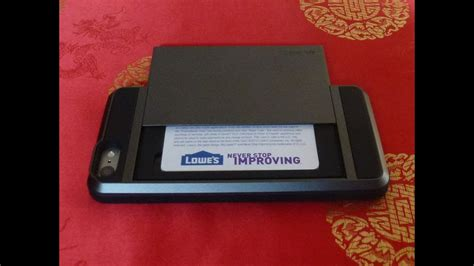 verus damda  case  iphone  sleek card case