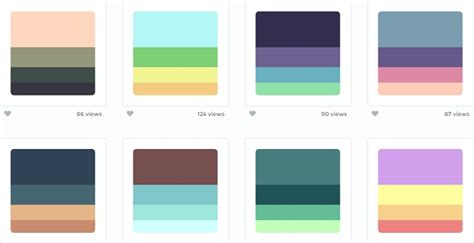 color palette generator design it pinterest a curated site for beautiful color palettes collection
