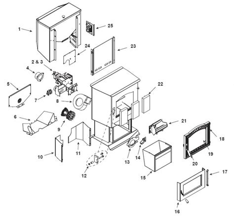 pellet stove diagram harman p68 replacement parts free shipping on orders