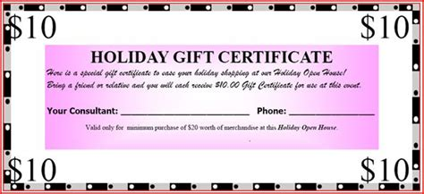 search results for mary kay gift certificates free