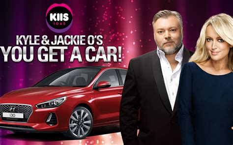 Kyle And Jackie O Car Giveaway - kyle jackie o to give every kiis 1065 caller a brand new car b t