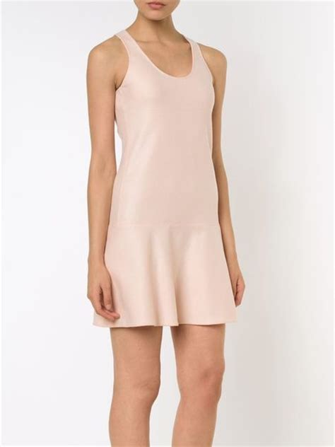 Dress Mini Calvin Klein calvin klein sleeveless mini dress in pink pink purple lyst