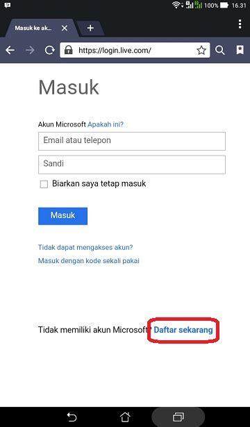 membuat email lewat handphone cara membuat email gratis google yahoo dan microsoft bisa