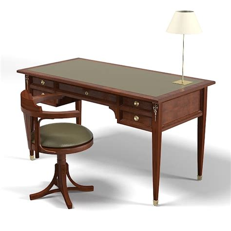 Classic Office Desk 3d Assidasolo Classic Country