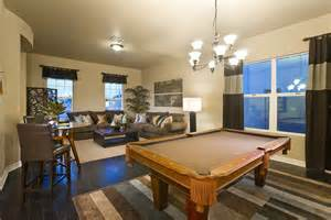 pool table in living room dining living room with pool table home decor and diy pinterest