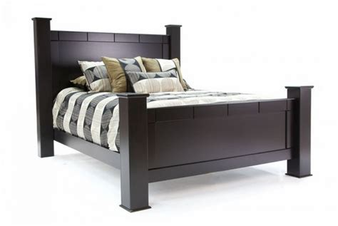 Cheap Bed Frames Los Angeles Sandberg 33412f 33412h 33462r Black Size Wood Bed A Sofa Furniture Outlet