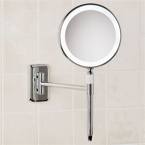 makeup mirror with lights wall mounted great point light