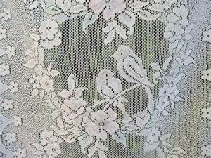 French lace panels lace curtains white lace by linenandletters