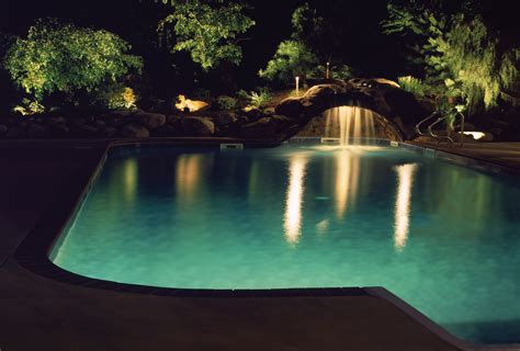 outdoor pool lighting how to change a pool light diy in your swimming pool