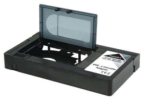 cassetta mini dv konig vhs c to vhs cassette adapter converts