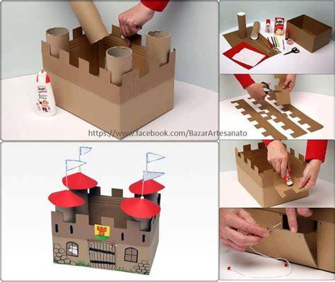 Cardboard Papercraft - my world craft castle craft germany mfw ecc