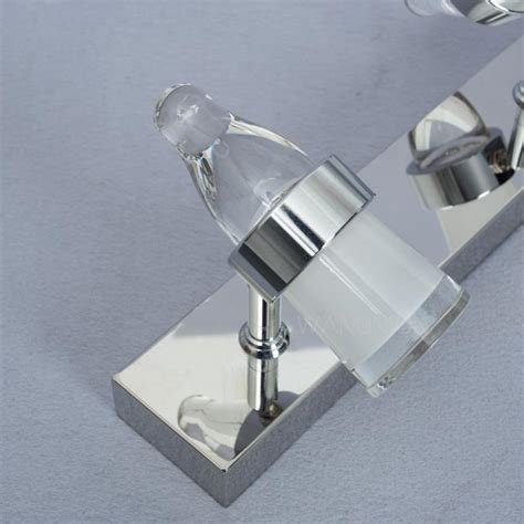 led bathroom vanity light fixtures modern led mirror front make up bathroom vanity light wall