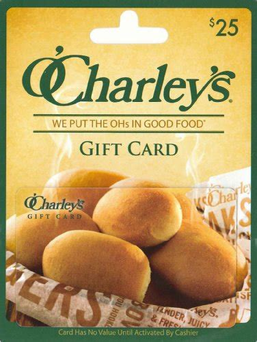 Where To Buy O Charley S Gift Cards - o charley s 25 arts entertainment party celebration gift giving gift cards certificates