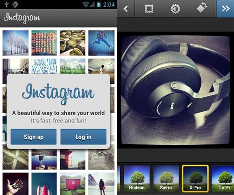 instagram app for android instagram for android gets updated with more features