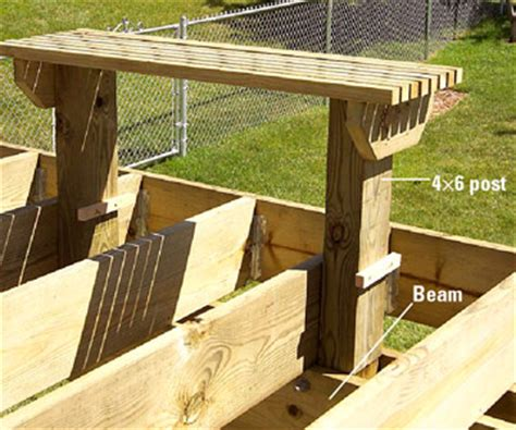 how to build deck bench seating making built in benches for your deck custom touches how to design build a deck