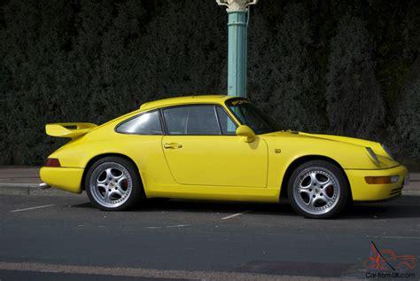 porsche yellow 1987 porsche 911 yellow
