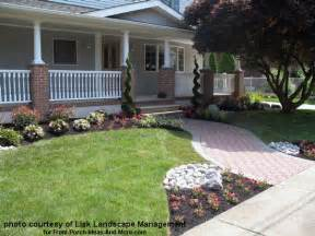 Landscape Ideas In Front Of Porch Front Yard Landscape Designs With Before And After Pictures