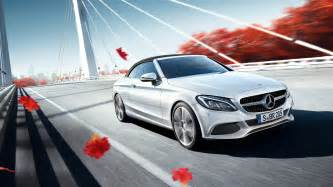Mercedes Website 2017 Mercedes C Class Cabriolet Wallpaper