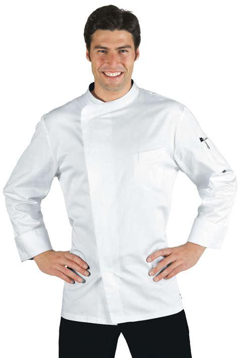vetement de cuisine pas cher veste chef cuisinier bilbao satin blanc 100 coton
