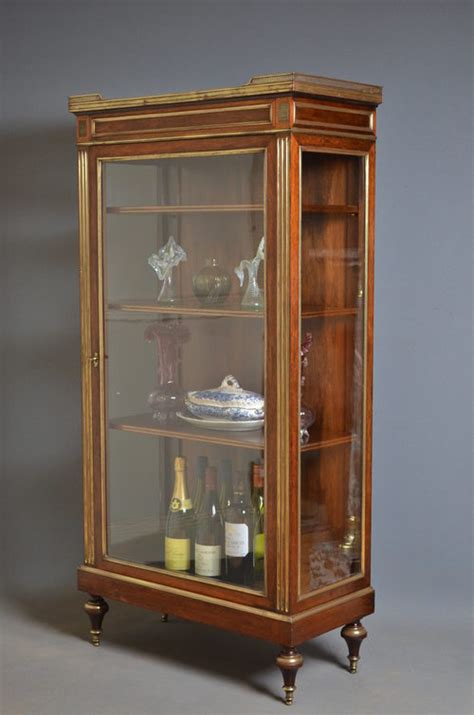 Vitrine Display Cabinet by Continental Vitrine Display Cabinet Antiques Atlas
