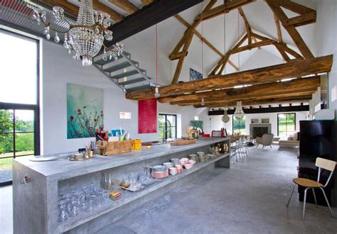 modern rustic home interior design rustic meets modern in an old barn decoholic