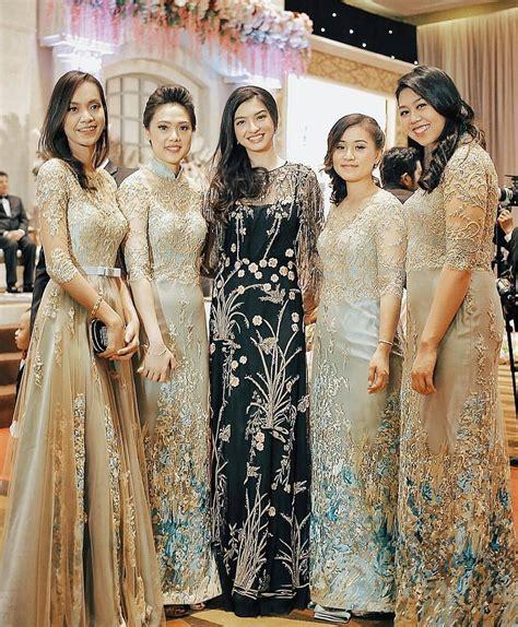 16 Model Baju Kebaya Gamis Anggun dan Glamour Cantik
