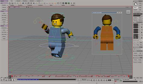 Blueprints Maker bricklayers the making of the lego movie