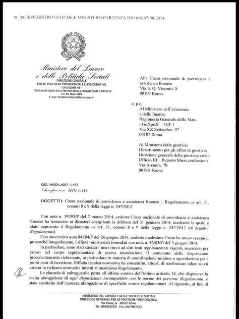 formulario lettere avvocato approvati i contributi minimi obbligatori avvocato