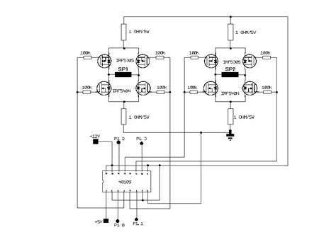 bipolar transistor widerstand bipolare schrittmotoren ansteuerung mikrocontroller net
