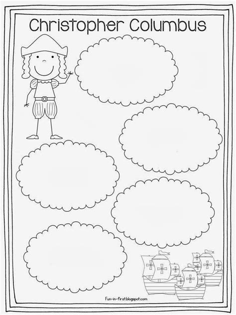 coloring pages columbus day printable free columbus day printables coloring home