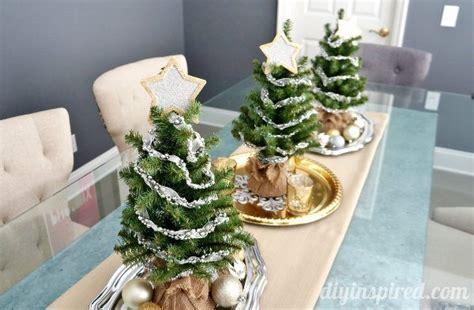 tree table centerpieces tree centerpiece fabulouslyfestive diy inspired