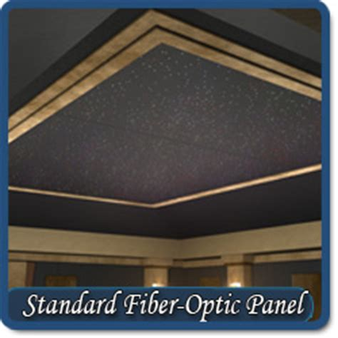 Fiber Optic Ceiling Panels by Home Theater Fiber Optic Ceiling Panels
