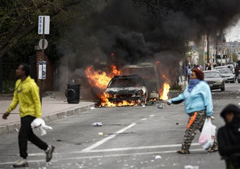 riots erupt in baltimore after freddie gray funeral