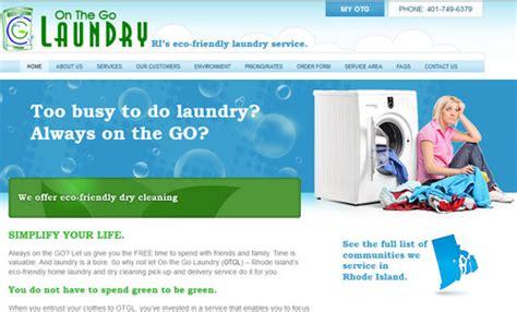 laundry web design on the go laundry boston web design