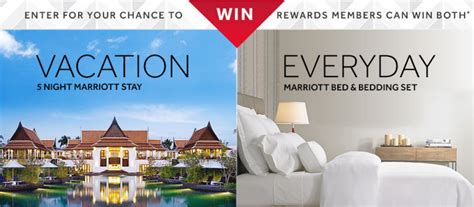 Marriott Sweepstakes - enter the marriott sweepstakes win 1 12 awesome prizes